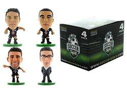 Creative Toys Company SOCCERSTARZ202871BOX 4PLAYERS Team Paris Saint Germain