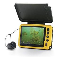 """Aqua-vu Av Micro 3.5"""" Plus Dvr-dt With Depth & Temperature Underwater Camera"""