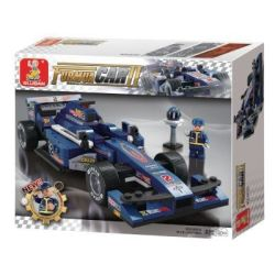 Sluban Formula 1: 1:24 F1 Blue Lightning