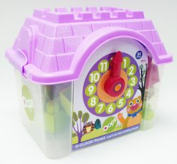 OOPS - 30 Piece 'o Clock Learn Time - Forest - Multi-colour