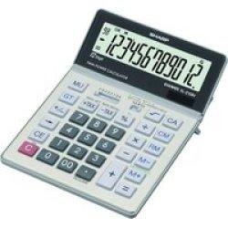 Sharp EL-2128V Calculator