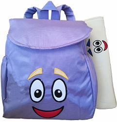 XKYMADE 12INCH Dora Explorer Backpack Rescue Bag With Map Pre ... on