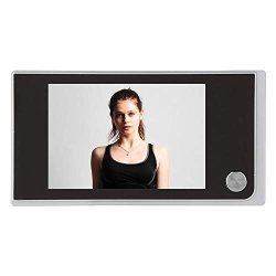 Video Doorbell Vbestlife 3.5 Inch Lcd Screen Door Viewer Chime With HD Camera 120 Degree Wide Angle Eye Peephole Intercom System