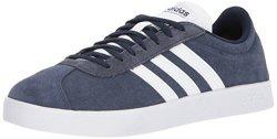 Adidas Performance Men's Vl Court 2.0 Sneaker Collegiate Navy white white 4 M Us