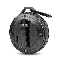 Bluetooth Speaker Mifa F10 Portable Speaker With Enhanced 3D Stereo Bass Sound IP56 Dustproof & Waterproof 10-HOUR Playtime Buil