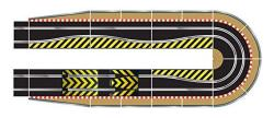 Scalextric C8514 Track Extension Pack Ultimate 1X Leap Ramp Up And Ramp Down Straight 2 Hairpin Curves 2X 1 4 Straight 4 Side Sw