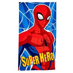 Character - Kiddies Beach Towel Microfibre Spiderman