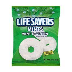 Mars Lifesavers Mint Wintogreen Peg Bag 177G