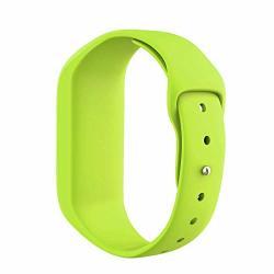 Ancool Compatible With Vivofit Jr Bands Soft Silicone Wristbands Replacement For Vivofit 3 VIVOFIT Jr vivofit JR2 Tracker Green