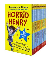 Horrid Henry Complete Story Collection 24 Books