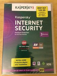 Kaspersky Lab Internet Security Premium Protection 3 Devices 2014 Sealed