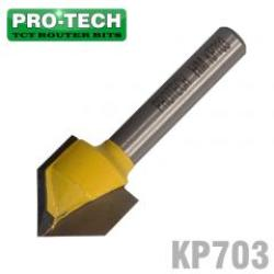 PRO-TECH V-groove Bit Tct 5 8'