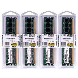 A-tech 16GB Kit 4 X 4GB For Dell Studio Xps 7100 8000 8100 8300 9000. Dimm DDR3 Non-ecc PC3-10600 1333MHZ RAM Memory. Genuine Brand.