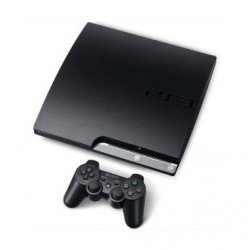 Rare Playstation 3 160gb Slim Black Console Pre-owned On Original Firmware Ofw 3.55