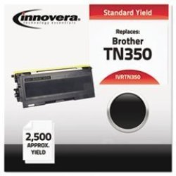 INNOVERA IVRTN350 TN350 Compatible TN-350 Toner Cartridge For Brother DCP-7020 And Others Black