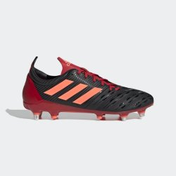 Adidas Malice Sg Rugby Boots 10 Black orange red