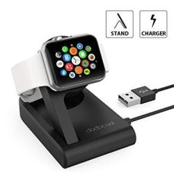 Apple Watch Charger Mfi Certified Dodocool Iwatch Magnetic Charging Dock With Adjustable Stand Support Nightstand Clock Mode For