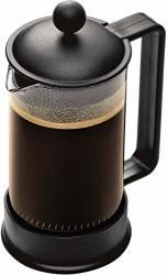 Bodum Brazil French Press Coffee Maker 12 Ounce .35 Liter 3 Cup Black Renewed