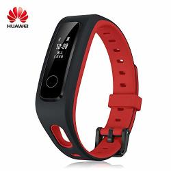 HUAWEI Honor Band 4 Running Edition All-in-one Activity Tracker Smart Fitness Wristband Gps Multi-sport Mode 5ATM Waterproof Anti-lost Red