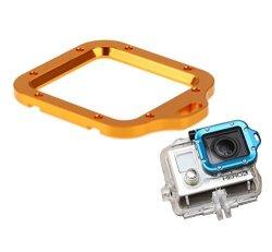 IGears Gold Aluminum Lanyard Ring Mount For Gopro Hero 3 Camera