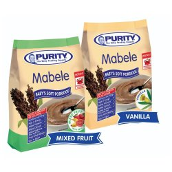 Purity Mabele Soft Porridge Mixed Fruit 350g