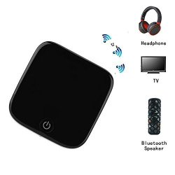 Changsha Hangang Technology Ltd Hangang Bluetooth 4.1 Transmitter Bluetooth Receiver Digital Optical Toslink And 3.5MM Wireless Audio Adapter For Tv Home And Car Stereo System Can Pair With