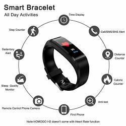 Fitness Tracker Color Screen Heart Rate Monitor Blood Presure Smart Bracelet