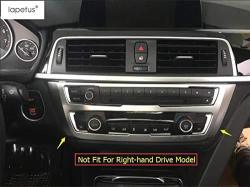 Accessories For Bmw 3 Series F30 316i 320i 328i 2013 2017 Matte Style Air Conditioning Panel Stickers Molding Cover Kit Trim R5767 00 Electronics
