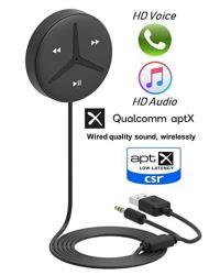 Aston Innovations Soundtek A2+ Aptx Aptx Low Latency Aac Codecs Auto On 3.5MM Aux Bluetooth Receiver Hifi Bluetooth Adaptor Musi