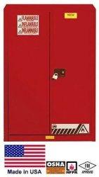 Streamline Industrial Cabinet Hazardous Materials flammable Liquids - 45 Gallon - 65H X 43W X 18D R