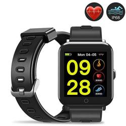 Evershop Smart Watch 1.5 Inch Ips Touch Screen With Sim Card Tf Card Slot - Water Resistant Smart Watches Smartwatch Phone With Sleep Monitor Heart Ra