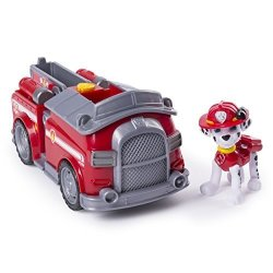 Paw Patrol Marshall S Transforming Fire Truck With Pop-out Water Cannons For Ages 3 And Up