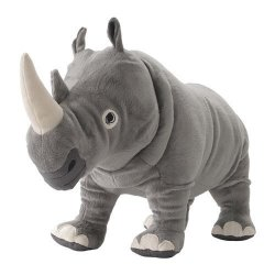 IKEA Soft Toy Rhino 22214.111120.610