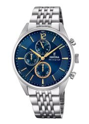 Festina Timeless Chronograph Analogue Men's Wrist Watch F20285 3