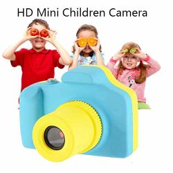 Changsha Hangang Technology Ltd Hangang Kids Digital Camera 1.77 Inch Screen HD MINI Children Camera Toy Action Camera Camcorder Support 32 Tf Card Cute Birthday Kids Blue
