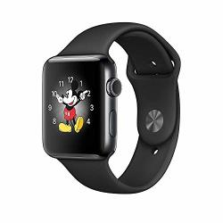 Renewed Apple Watch Series 3 42mm in Black Sport Band