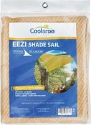Coolaroo Eezi Shade Sail Triangle 3M