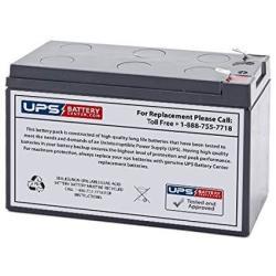 12V 9AH F2 Agm Battery Replaces CP1290 WKA12-9F2 NPX-35 NPX-L35 NP9-12T NPW45-12 REW45-12 PC9-12S F2 12V - 7 Ah 7.0 Ah 7.2 Ah 7.