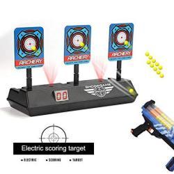 Fibevon Electric Scoring Auto Reset Shooting Digital Target For Nerf Guns Blaster Elite mega rival Series