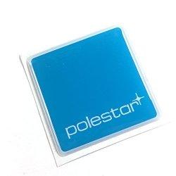 "Alstickers Polestar Car Sticker Polyurethane Resin Film 1.57""X1.57"" 40X40 Mm"