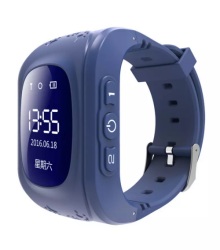 Q50 Kids Gps Tracker Smart Watch - Blue