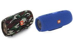 Jbl Charge 3 Waterproof Portable Bluetooth Speaker - Pair Camo blue