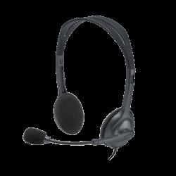 Logitech Headset H111 Analog Stereo Headset PC Gaming