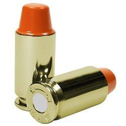 B's Dry Fire Snap Caps - Dummy .40 S&w Training Rounds 5 Pack Orange Brass