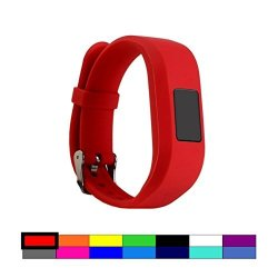 REPLACEMENT Dunfire Wristband For Garmin Vivofit 3-1PC Red