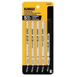 DEWALT Jigsaw Blades Set T-shank 5-PIECE DW3795H