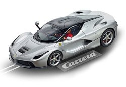 Carrera USA Carrera Evolution 27515 Laferrari Aluminum Matte Silver Finish