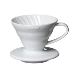 Ambeans Hario Dripper V60-01 Ceramic White