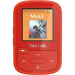 SanDisk Clip Sport SDMX28-016G-A46R Flash MP3 Player SDMX28-016G-A46R Red - 16GB - New