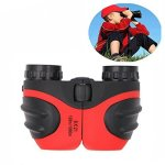 DIMY Birthday Gifts For Boys 8X21 Compact Fogproof Binoculars For Hiking Hunting Red DL04